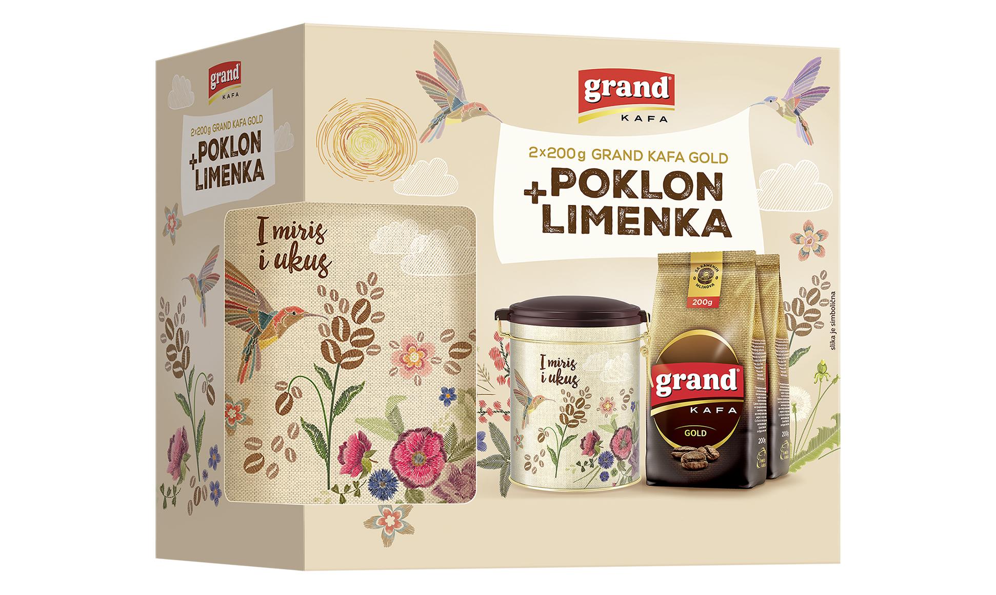Grand kafa limenka po vašem izboru