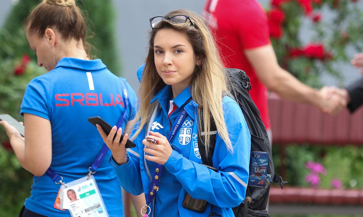 Sanja Vukašinović osvojila kvotu za olimpijske igre i 4. mesto u trostavu na EI u Minsku
