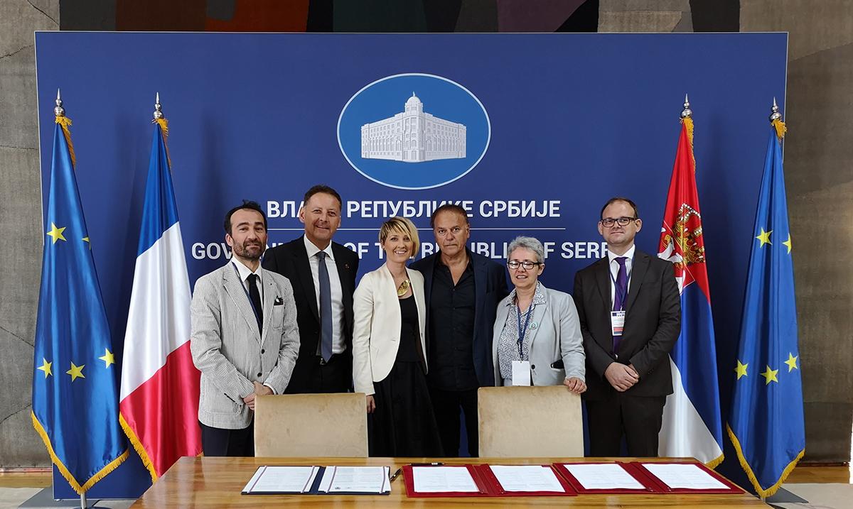 Potpisan francusko – srpski sporazum o saradnji u oblasti kulture i stripa