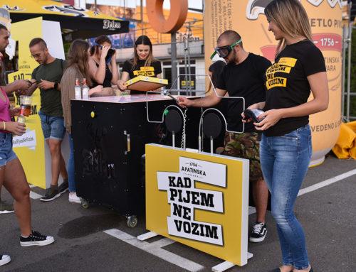 Apatinska pivara tokom Ulaz festivala podsećala na značaj bezbedne i sigurne vožnje
