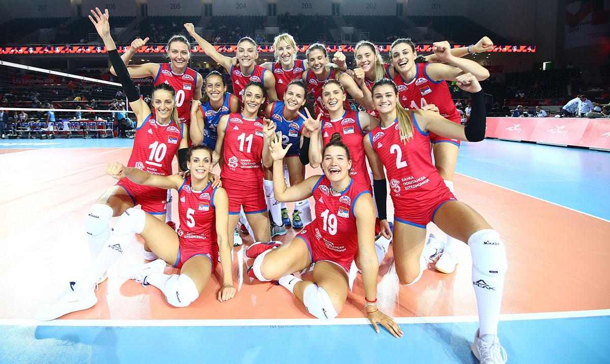 Odbojkašice Srbije pobedom protiv Finske startovale na EP