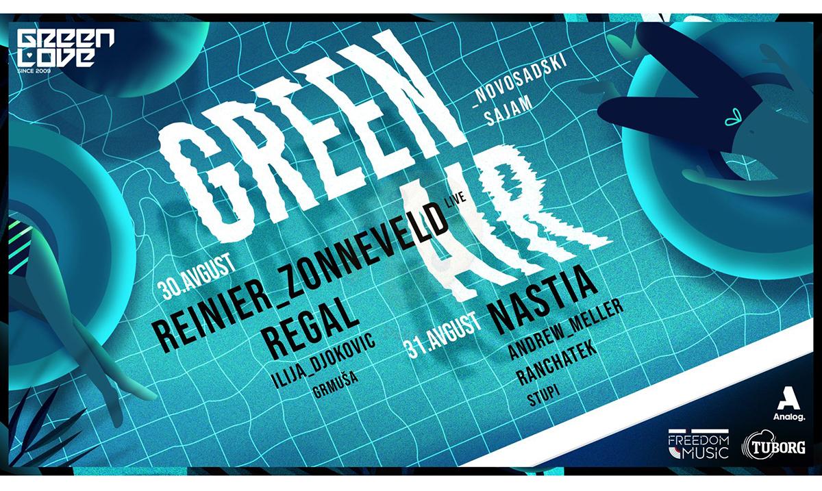 Treći Green Air na Novosadskom sajmu 30. i 31. avgusta, samo za 18+
