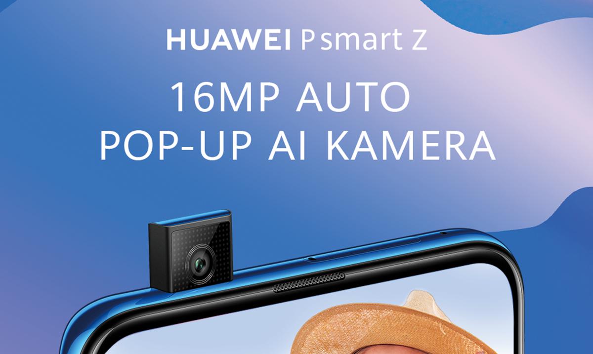 Upoznajte prvi Huawei pametni telefon sa pop-up kamerom – Huawei P smart Z