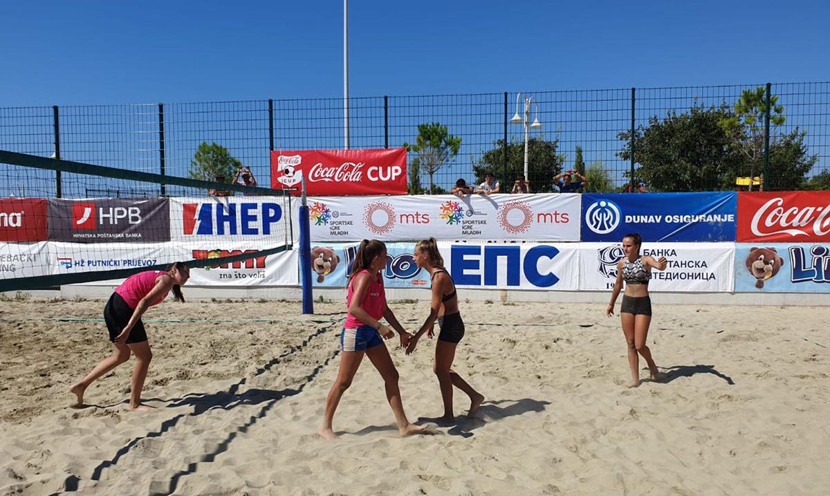 Veliko međunarodno finale Sportskih igara mladih u Splitu polako ulazi u svoju završnicu