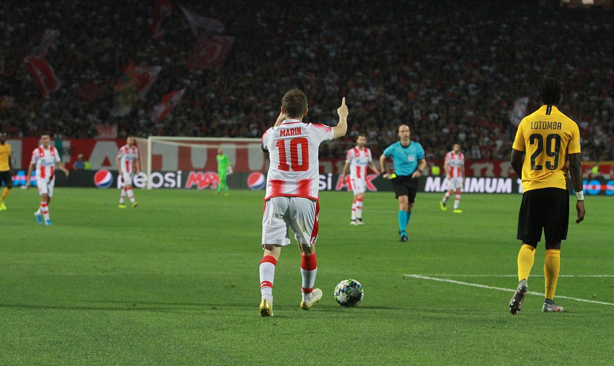 Marin u 97. minutu za pobedu Zvezde u Kruševcu