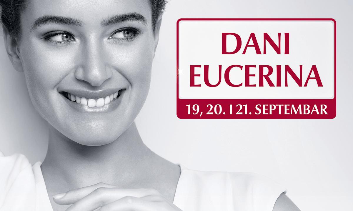 Dani Eucerina – tri dana posebnih pogodnosti kupovine u septembru