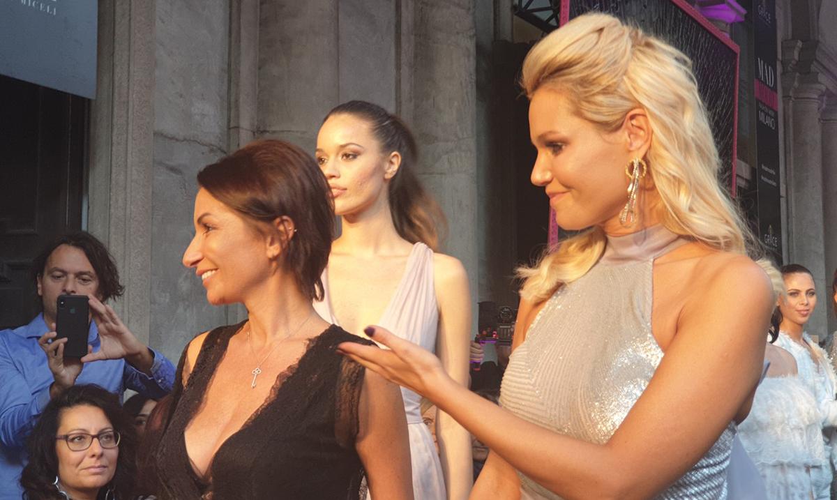 Lena Kovačević i Suzana Perić oduševile Italijane na Nedelji mode u Milanu