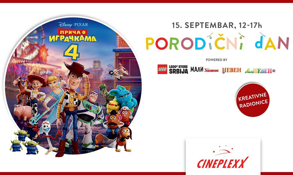 Pokloni i druženje ove nedelje uz ,,Priča o igračkama 4″ u bioskopima Cineplexx