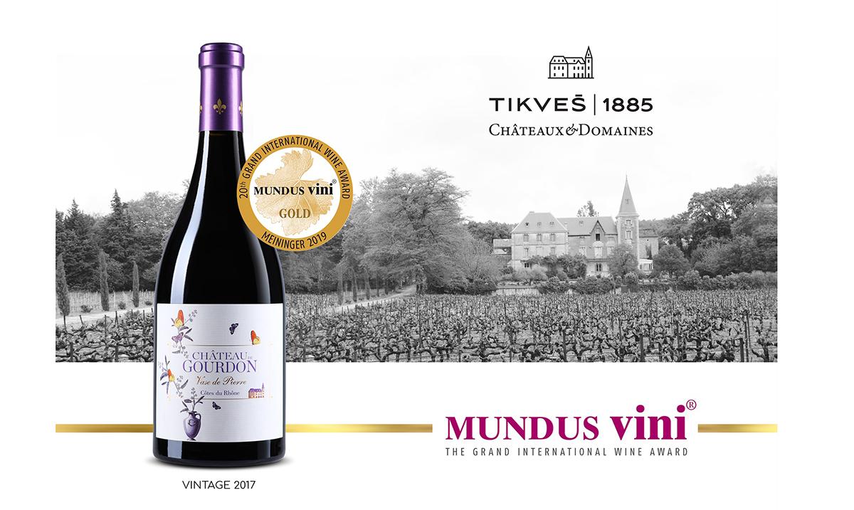 "Zlatna medalja za crveno vino ""Vase de Pierre 2017″ na prestižnom takmičenju vina ""MUNDUS VINI"" u Nemačkoj"