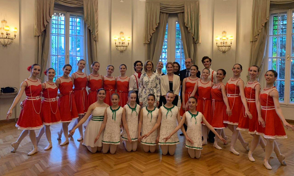 Baletska škola Nacionalne fondacije za igru gostuje u Milanu i Komu