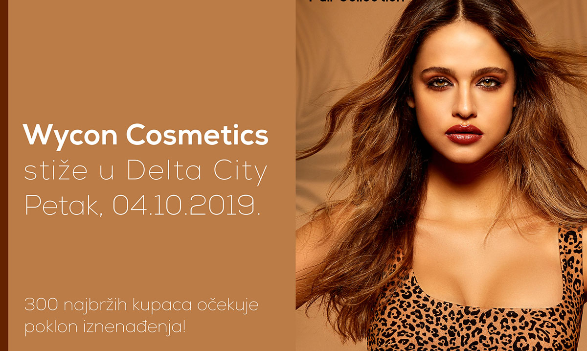 Wycon Cosmetics stiže u Delta City!