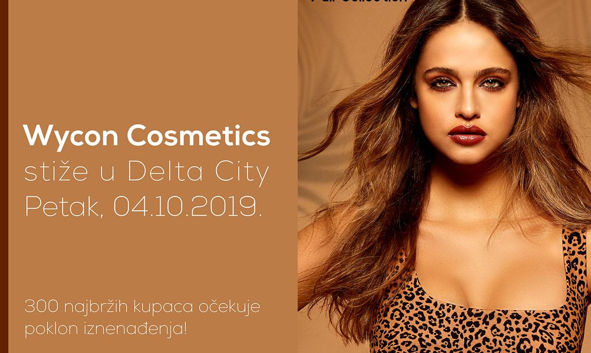 Wycon Cosmetics stiže u Delta City!