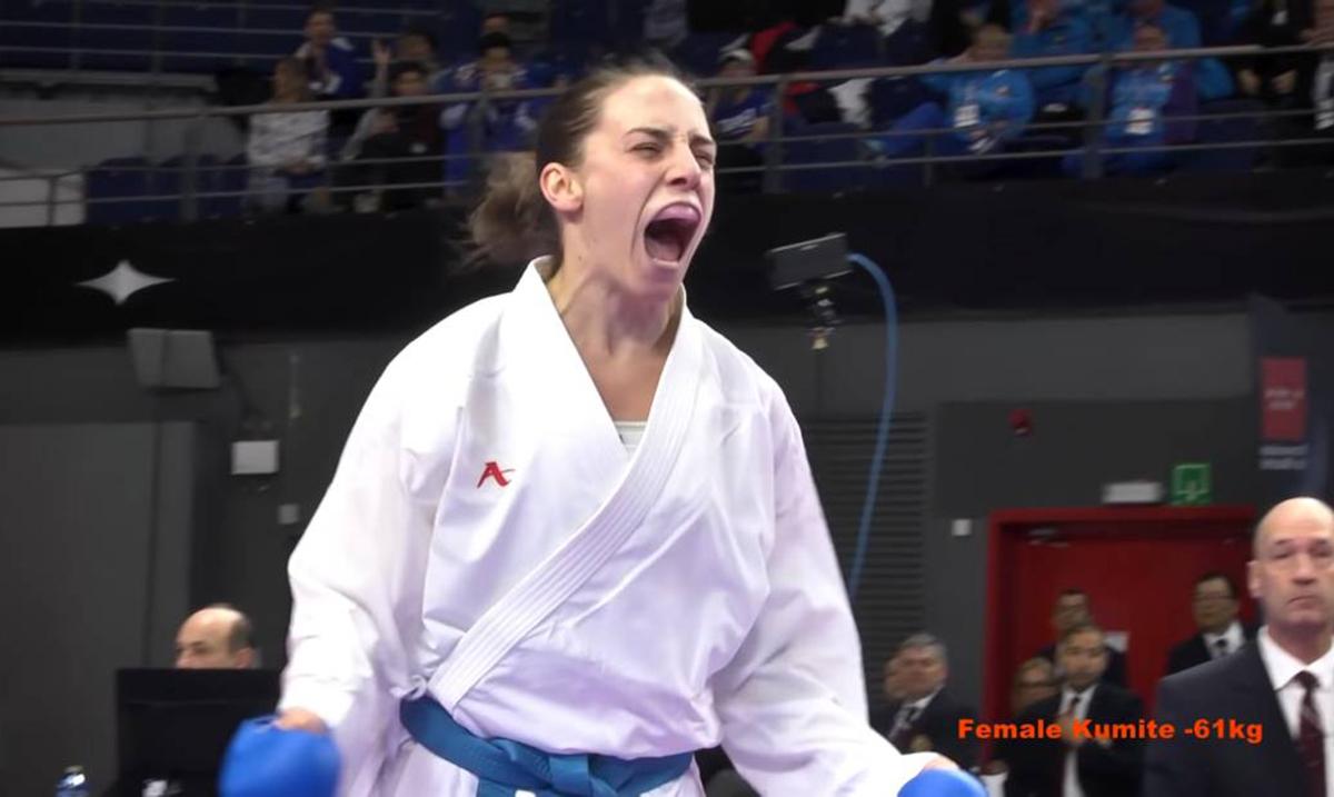 Aktuelna prvakinja sveta Jovana Preković bronzana  na karate 1 Premijer ligi-Moskva 2019