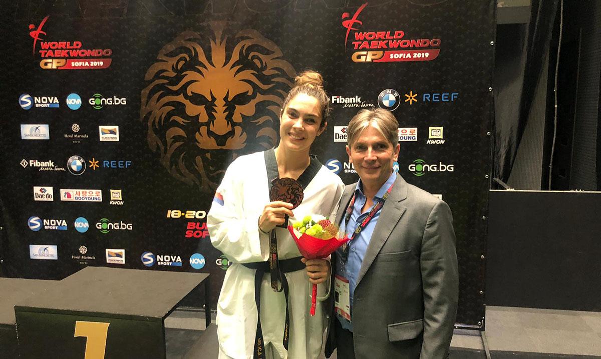 Milica Mandić bronzana na Gran pri turniru, korak do OI u Tokiju
