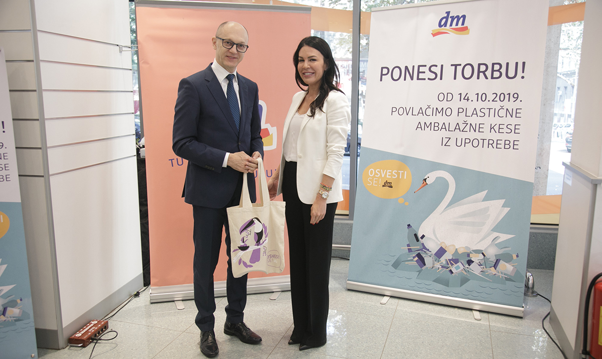 Kompanija dm drogerie markt povukla plastične ambalažne kese iz prodaje