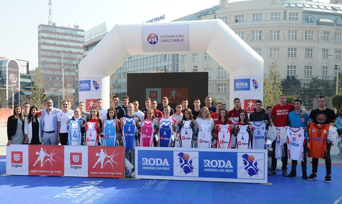 Promovisane mlade kategorije Košarkaškog saveza Srbije za sezonu 2019/20