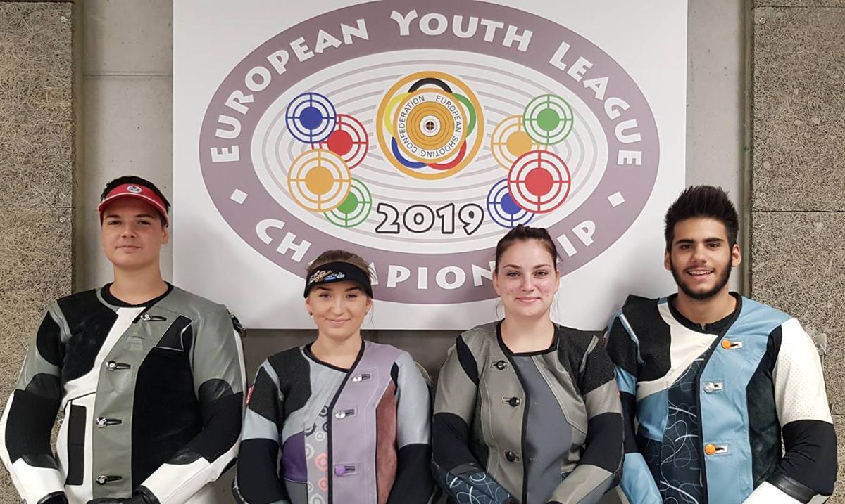 Srbija osvojila srebro u Evropskoj ligi mladih vazdušnom puškom