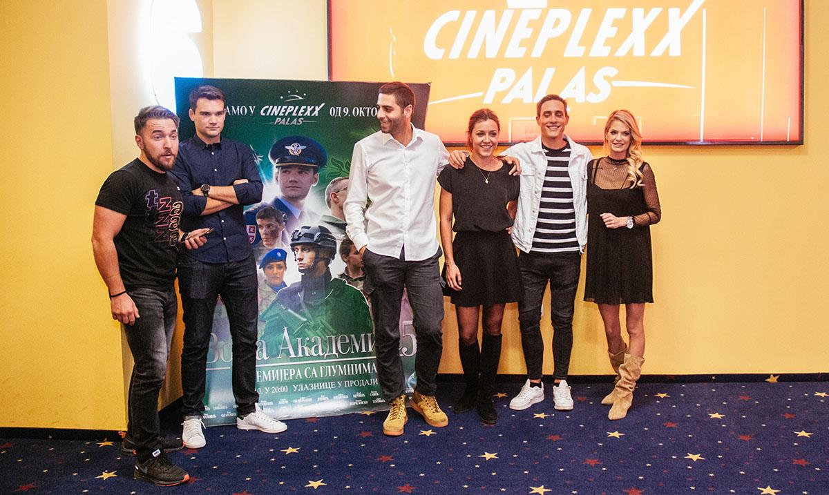 """Film """"Vojna akademija 5"""" za osam dana videlo više od 50.000 gledalaca, ovog vikenda MARŠ GLUMACA u Roda Cineplex i Cineplexx bioskopima"""