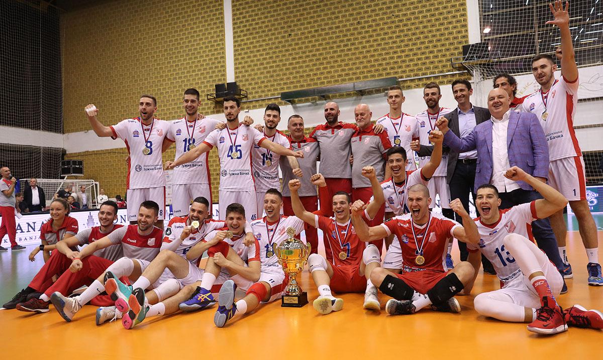 Drugi trofej Super kupa za Vojvodinu NS seme
