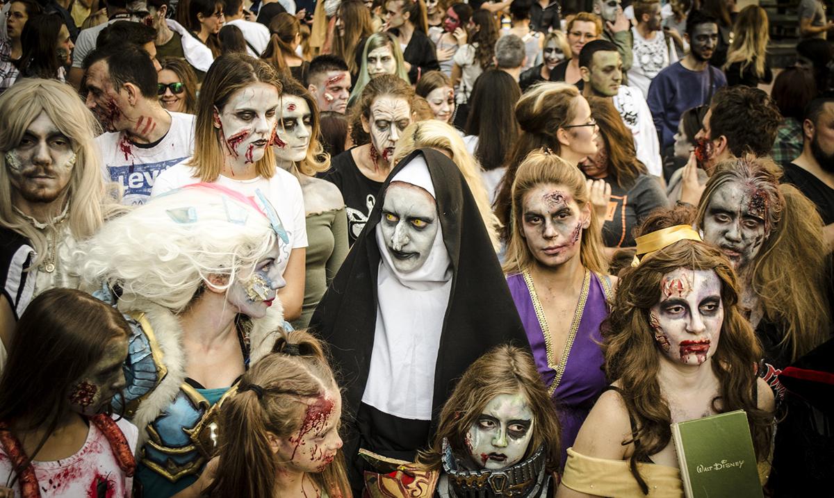 Zombiji ponovo šetaju Beogradom