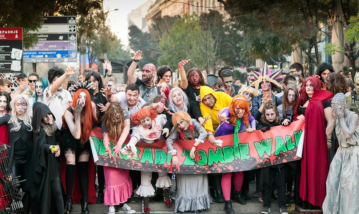 Zombiji ponovo šetali Beogradom