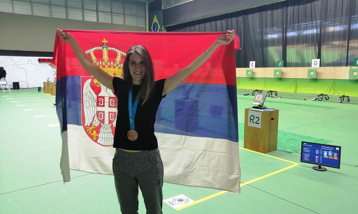 Jasmina Milovanović na finalu Svetskog kupa
