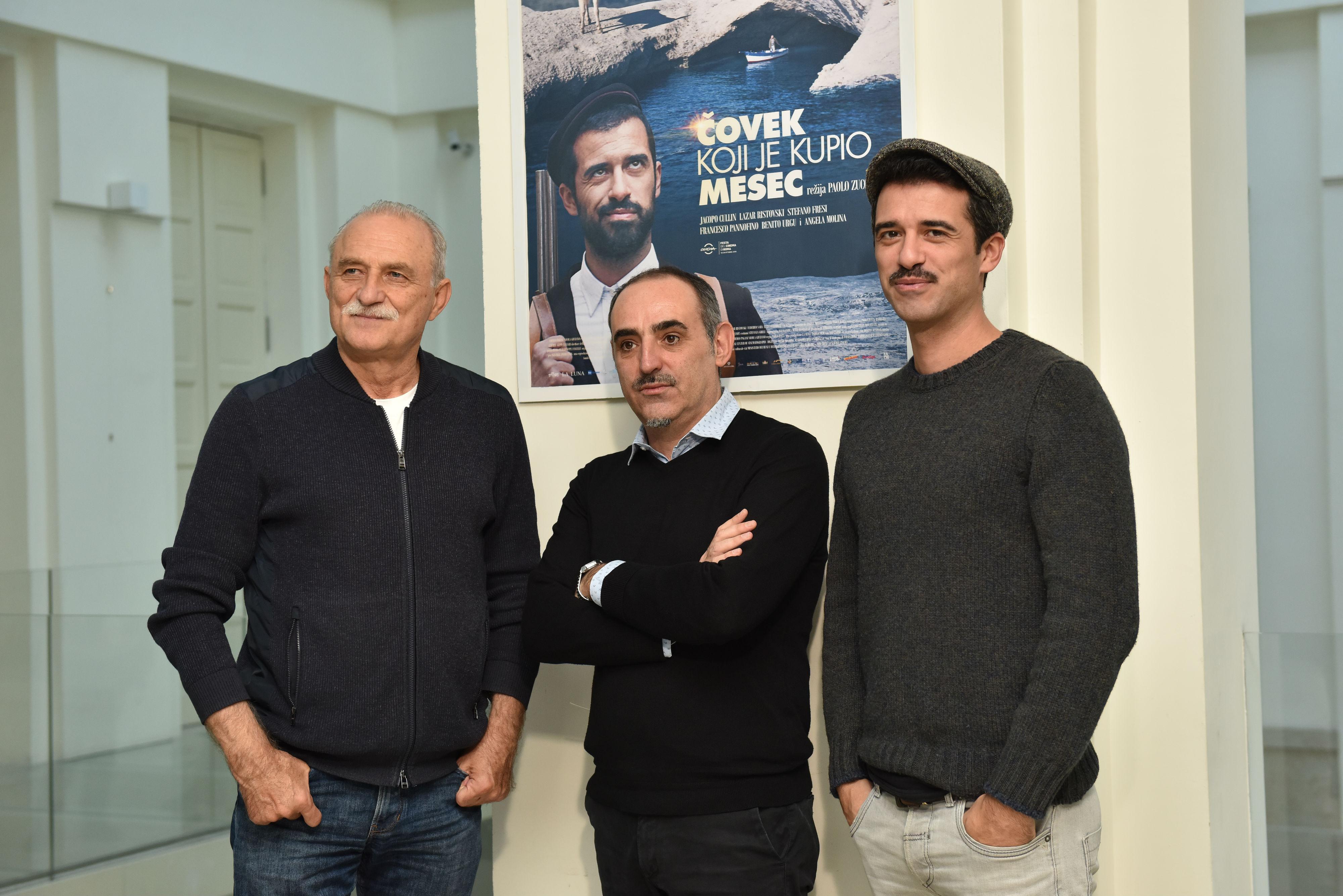 Reditelj Paolo Zucca i glumac Jacopo Cullin stigli u Beograd na premijeru italijanske komedije  ČOVEK KOJI JE KUPIO MESEC