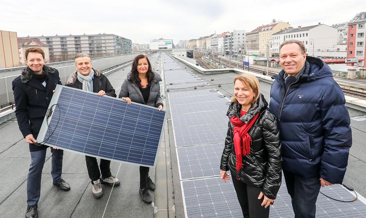 Bečka metro stanica radi na solarnu fotonaponsku energiju