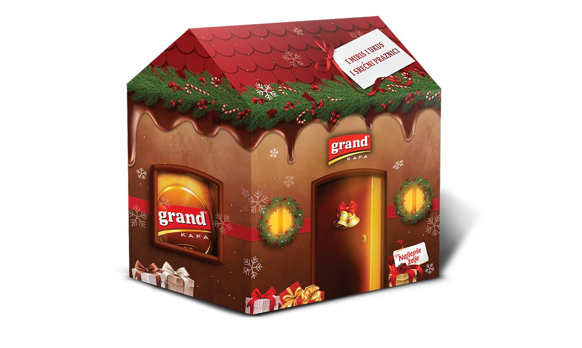 Novogodišnji Grand kafa poklon set: prava kombinacija za prazničnu magiju