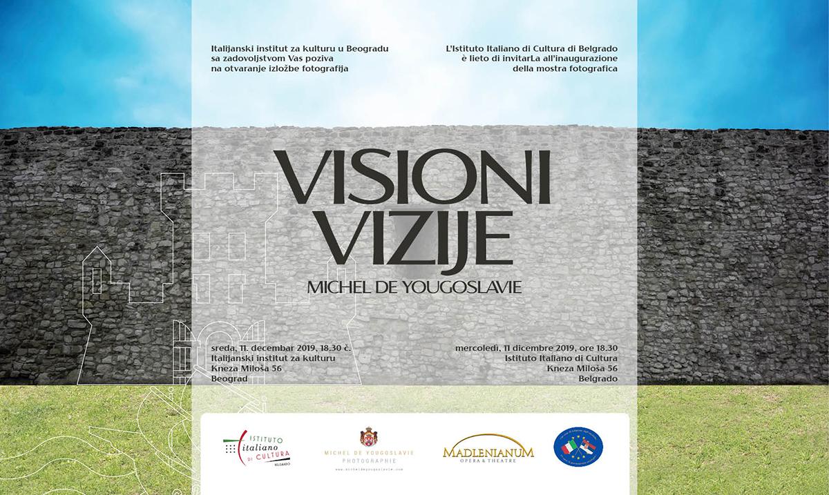 Izložba princa Mihaila od Jugoslavije u Italijanskom institutu za kulturu