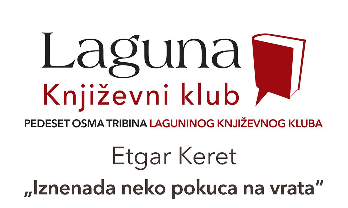 "Lagunin književni klub – ""Iznenada neko pokuca na vrata"" Etgara Kereta 6. decembra"
