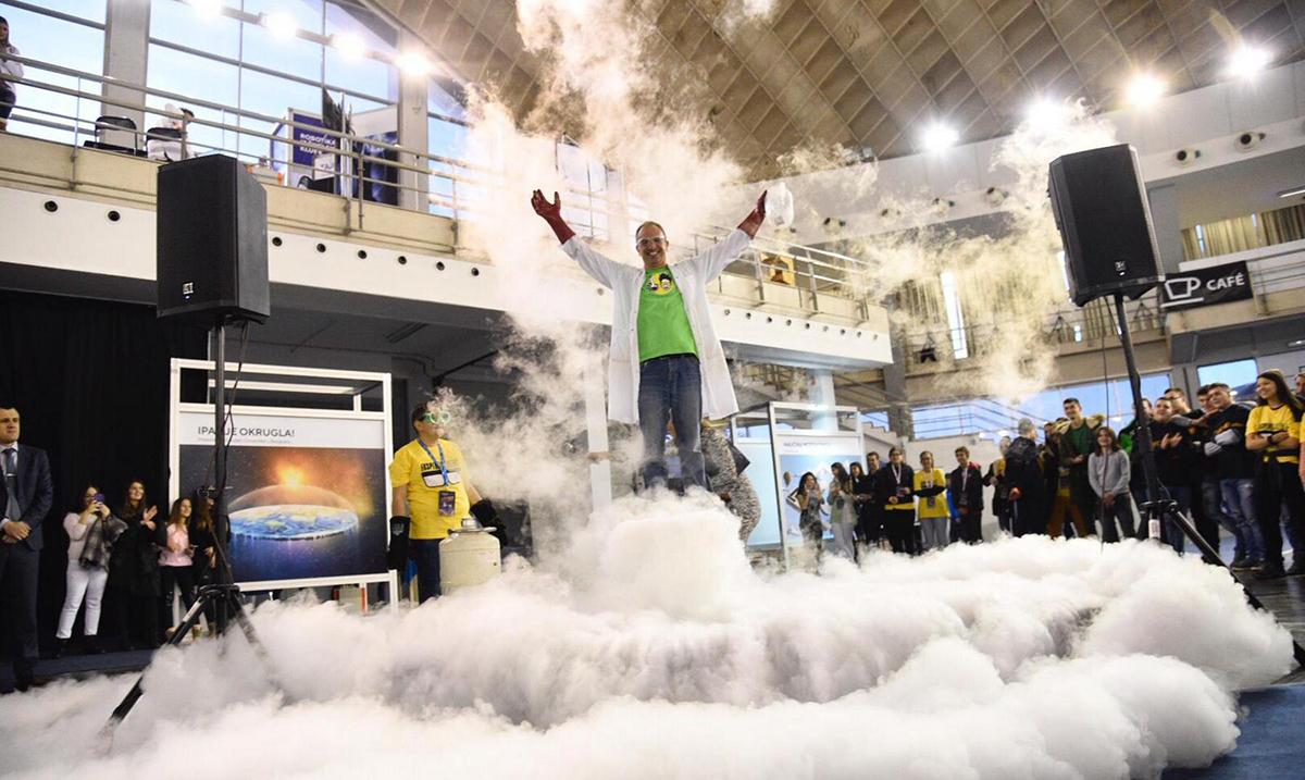 Velika eksplozija za početak 13. Festivala nauke