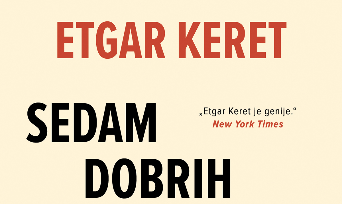 Ekskluzivno: Etgar Keret – specijalni gost Noći knjige!