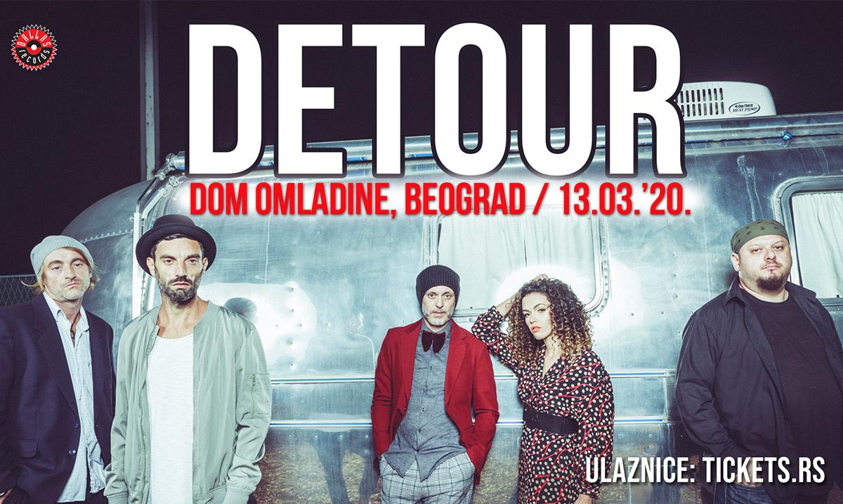Grupa Detour u Beogradu 13. marta