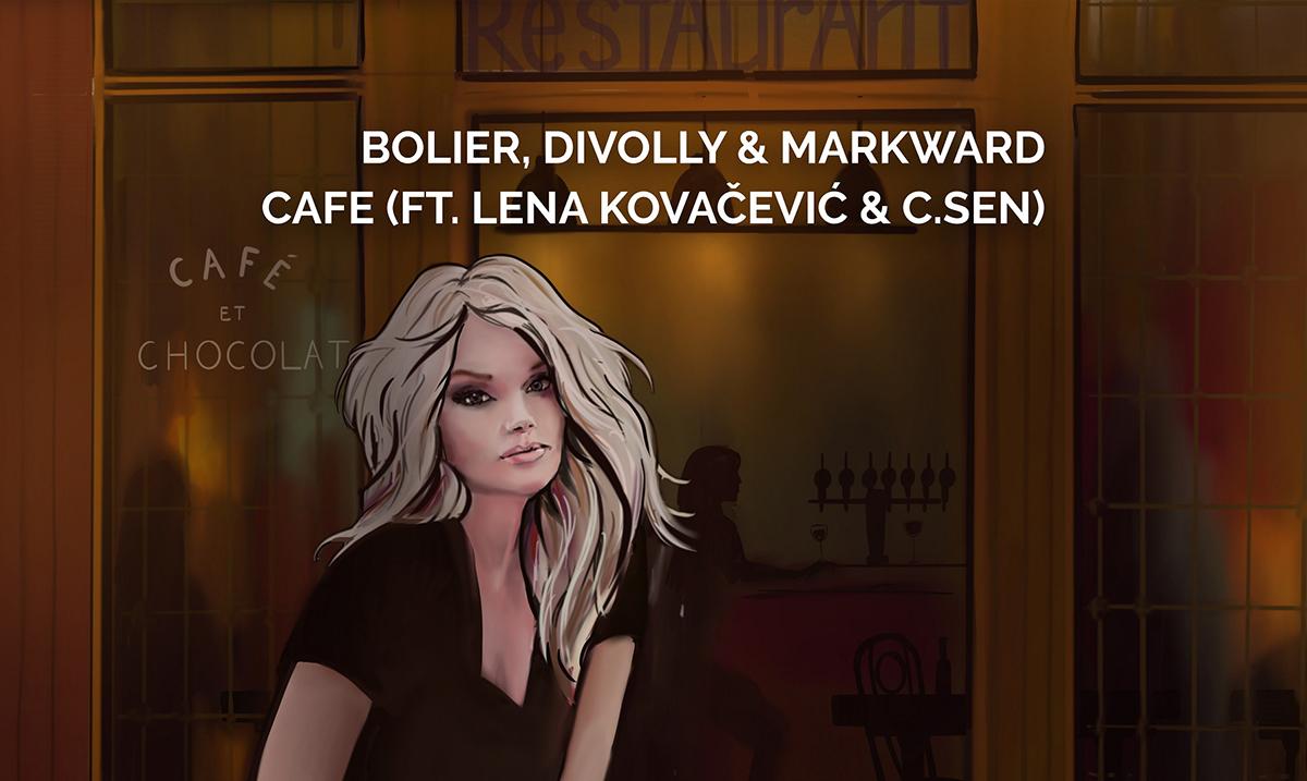 Lena i singl CAFE od sada i na svetskoj muzičkoj mapi