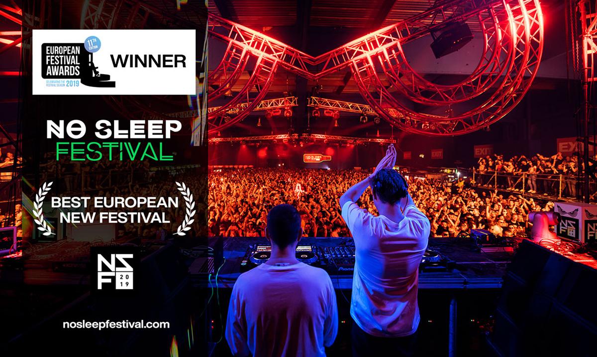 "EXIT timu novi ""festivalski oskar"": No Sleep je najbolji novi festival Evrope!"