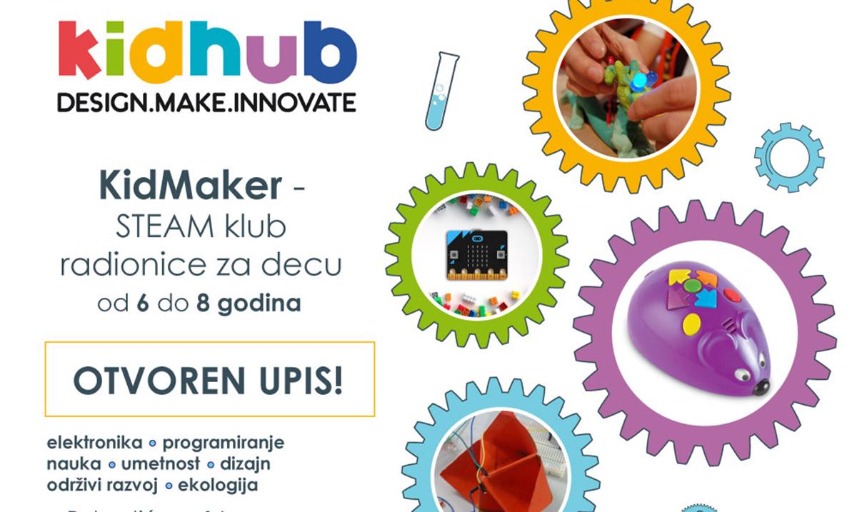 KidHub pokreće KidMaker – mejker klub za decu od 6 do 13 godina tokom zimskog raspusta