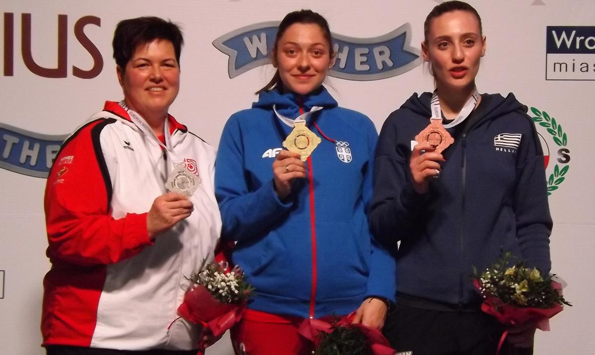 Bobana Veličković Momčilović treći put šampion Evrope!
