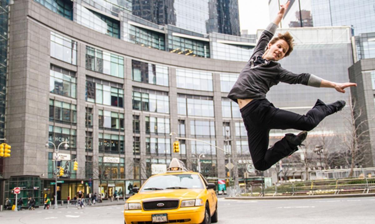Obraćanje prvaka Njujork siti baleta Danijela Ulbrihta beogradskoj publici