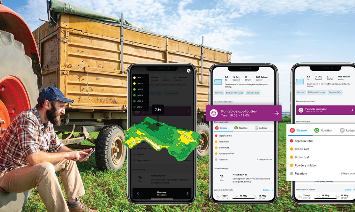 BASF xarvio™ predstavlja nove funkcije programa pod nazivom Menadžer polja (Field manager) za 2020. godinu