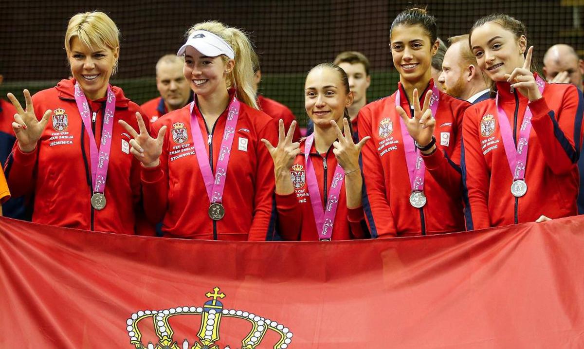 MTS Fed kup tim Srbije u plej ofu protiv Kanade