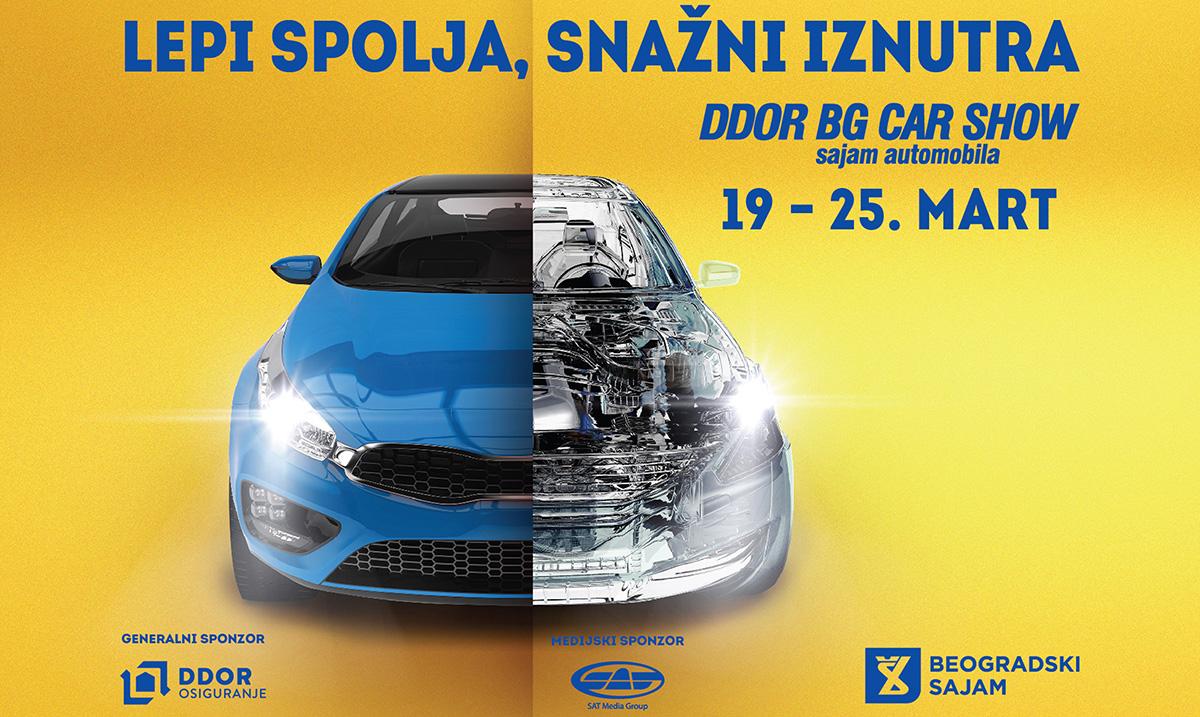 Sajam automobila DDOR BG Car Show 07 i 14. Međunarodni sajam motocikala Motopassion od 19. do 25. marta