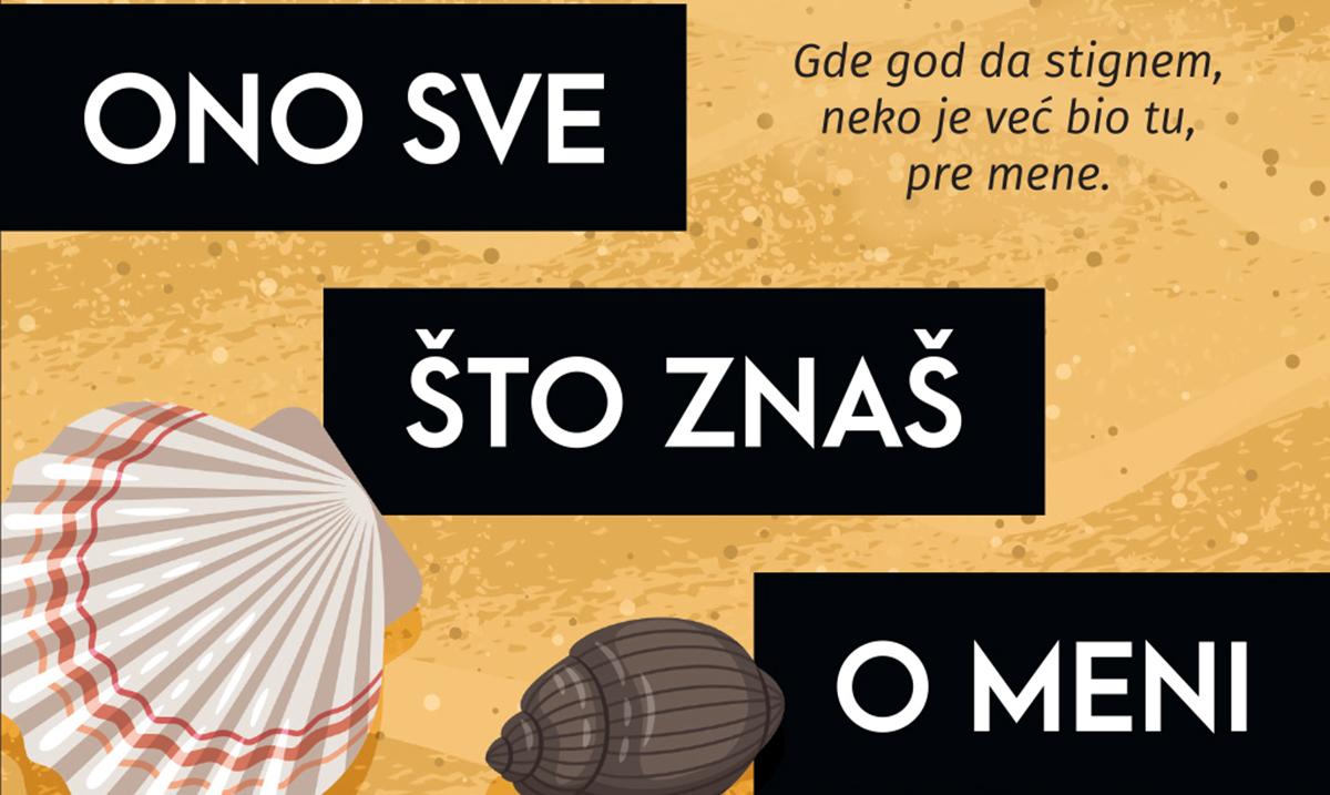 """Roman Mirjane Bobić Mojsilović """"Ono sve što znaš o meni"""" u knjižarama od 20. marta"""