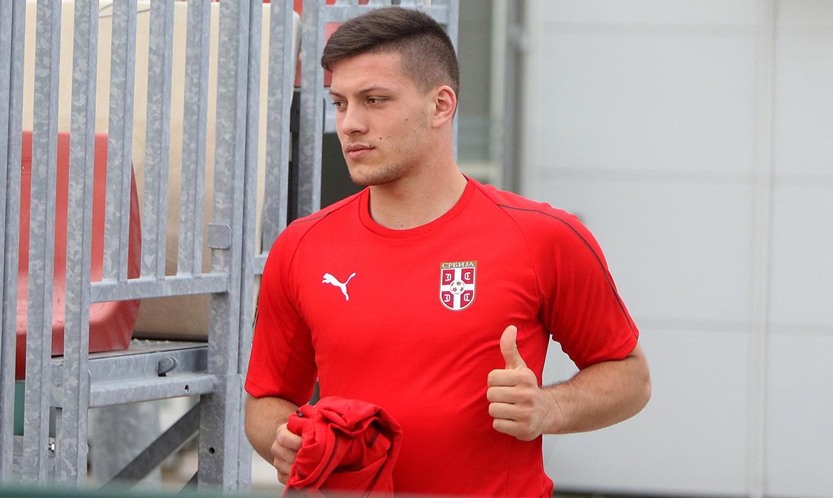 Luka Jović se oporavio od korona virusa