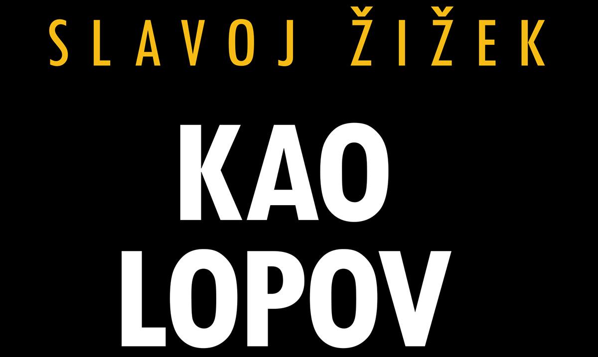 """O radikalnim društvenim preokretima u novoj knjizi Slavoja Žižeka """"Kao lopov usred bela dana"""""""