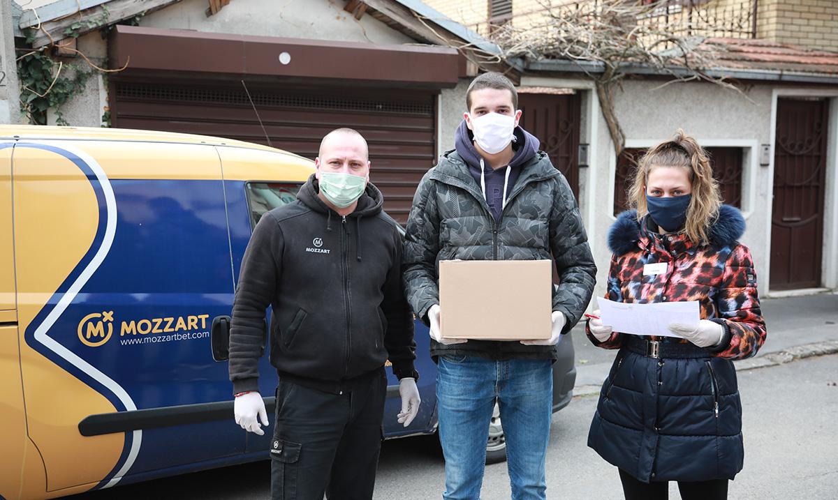 Od Mozzarta za borbu protiv virusa korona 400.000 evra