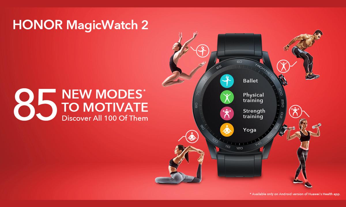 HONOR MagicWatch 2 unapređuje korisničko iskustvo sa preko 80 novih režima za vežbanje