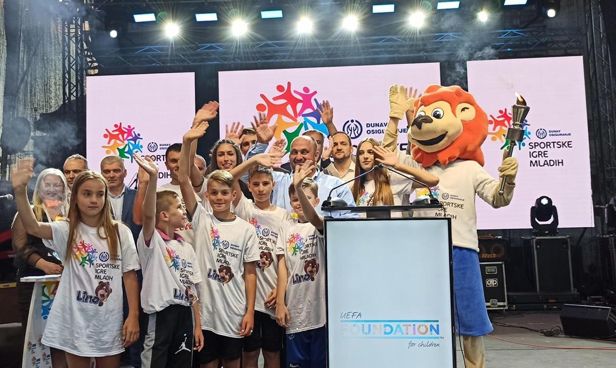 U Priboju svečano otvorene Dunav osiguranje Sportske igre mladih i proslavljen 7. rođendan SIM Srbije