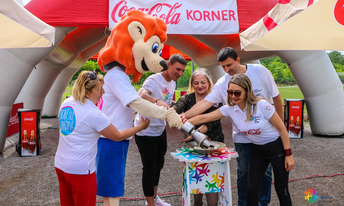 Startovao Karavan radosti i prijateljstva Dunav osiguranje Sportskih igara mladih