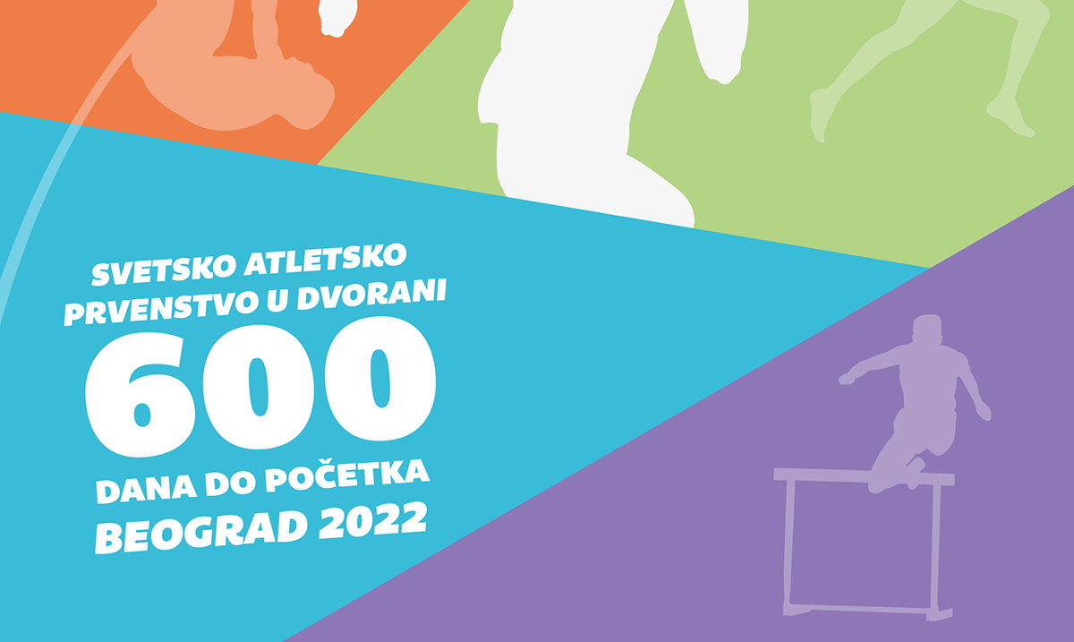 600 dana do Svetskog dvoranskog prvenstva 2022